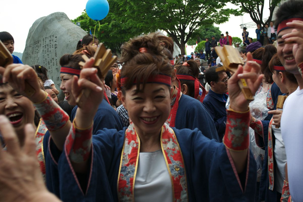 Dancing With The Joseon And Samurai At The Tongshinsa Festival