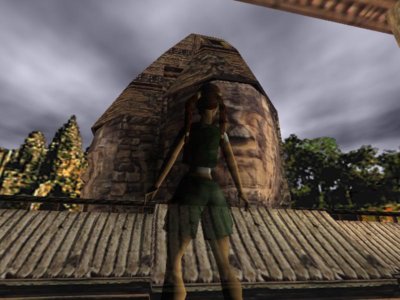 Angkor Watt as depicted in Tomb Raider IV: The Last Revelation (Image skanked from here)