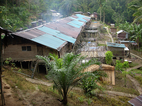 The Longhouses of Malaysian Borneo